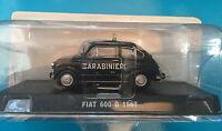 "DIE CAST "" FIAT 600 D - 1967 CARABINIERI "" SCALA 1/43 CARABINIERI"