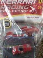 FERRARI 275 P  OLLON-VILLARS 1965 1:43 FERRARI RACING C. #29 MOC DIE-CAST
