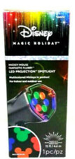 Gemmy Mickey Mouse Disney Projection  Fantastic Flurry LED Multi-Use Stake Light
