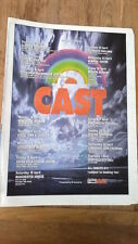 CAST 1996 Tour UK Poster size Press ADVERT 16x12 inches