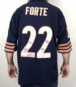 Matt Forte Jersey Mens Size 50 Large Reebok On Field NFL Chicago Bears Stitched