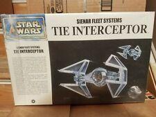 Fine Molds Star Wars Tie Interceptor Sienar modelo de sistemas de la flota