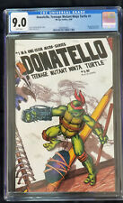 Donatello,Teenage Mutant Ninja Turtle #1  CGC 9.0  Wraparound cover