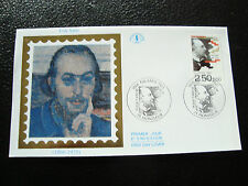 FRANCE- enveloppe 1er jour 11/4/1992 (erik satie) (cy21) french