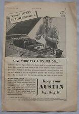 1942 Austin Original advert