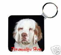 Clumber   Spaniel     Personalized   Breed  Key   Chain