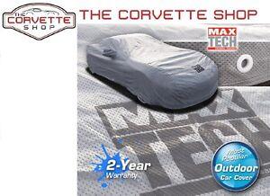 Corvette Max Tech Car Cover C7 2015-19 Z06 Most Popular Indoor Outdoor 4 Layers