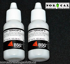 2-PACK Kerry FERMCAP S Anti Foam Agent .5 Ounce Wort Boil Over Homebrew Beer