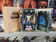 Masters of the Universe Classics MER-MAN 2.0 Filmation Club MOTUC Super7 New