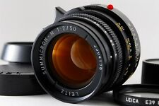 NEAR MINT!! Leitz Leica 50mm F2 Summicron-M 3rd Gen. 6 elements From JAPAN #0832