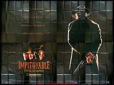 IMPITOYABLE Affiche Cinéma GEANTE 4x3 WIDE Movie Poster CLINT EASTWOOD