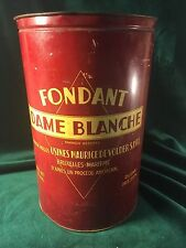 Fondant  Dame Blanche Store Bakery Confectionary Tin ~ Brussels, Belgium