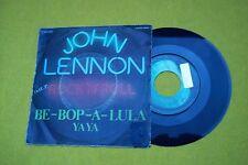 "JOHN LENNON be-bop-a-lula  Spain (VG/VG+) sticker promo 1975 beatles single 7"" ç"