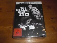 The Hills have Eyes Limited Sammler Edition inkl. T- Shirt Größe XL LP DVD