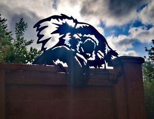 Koala Bear Fence panel topper Garden silhouette