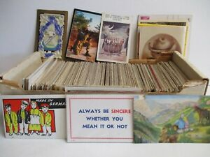 Box #1 - 600+ Eclectic Postcards