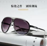 2018 Aviator Fashion Eyewer Men&Women Retro Sunglasses Unisex Carrera Glasses 01