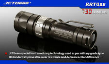 JETBeam RRT0SE Cree XM-L2 LED 730 lumens flashlight daily torch use AA or CR123