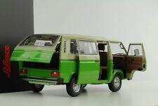 VW T3 Volkswagen Bus grün creme 1:18 Schuco Diecast
