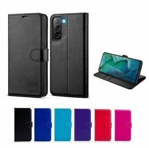 Case For Samsung Galaxy S7 S8 S9 S10 S10E S20 S21 PLUS Leather Flip Wallet Cover