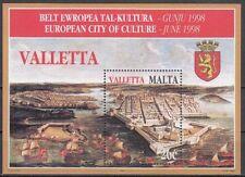 Malta Block 16 postfrisch, Europäischer Kulturmonat Valletta