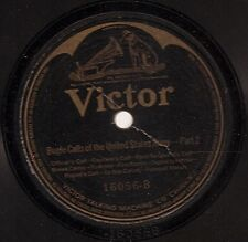Bugle Calls of the United States Army on 78 rpm Victor 16056 – in 2 parts