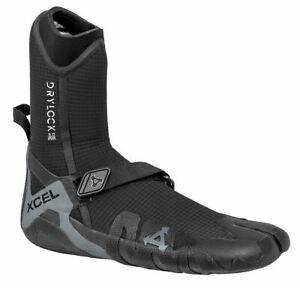 Xcel Drylock 5mm Booties Black Grey Split Toe
