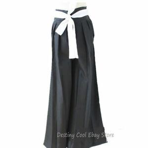 Bleach Ichigo Kurosaki Bankai Uniform Cloak Pants Wig Halloween Cosplay Costume
