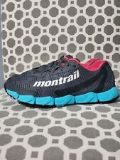 Montrail GL2149-048 Womens Trail Running Shoes US size 9 FluidFoam Gray