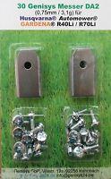 -90 +3 gratis- Klingen für Automower 0,75mm/3,1g für Husqvarna® Gardena® DA2