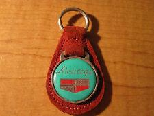 New Vintage Red Mercury Comet GT Leather Keyring Key Fob Keychain KER