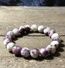 BEAUTIFUL RARE Eudialyte NATURAL 10mm CRYSTAL BRACELET Russia