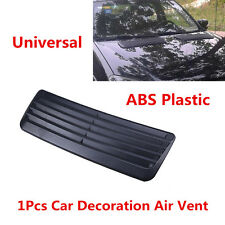 1x Car ABS Plastic Decorative Air Flow Intake Scoop Turbo Bonnet Vent Cover Hood