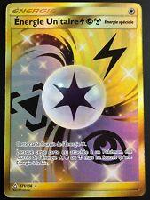 Carte Pokemon ENERGIE UNITAIRE 171/156 SECRETE Soleil et Lune 5 SL5 FR NEUF