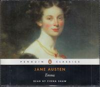 Jane Austen Emma 6CD Audio Book Abridged Fiona Shaw FASTPOST