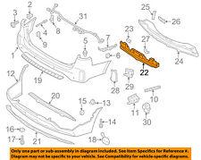 KIA OEM 14-15 Sorento Bumper Face-Foam Impact Absorber Bar 866201U700