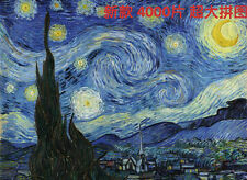4000 pcs Jigsaw Puzzle Vincent van Gogh Starry Night World Famous Paintings NIB