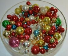 100+ Shiny Brite Other Vintage Glass Balls Ornaments Mini Red Blue Gold Silver
