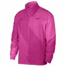 Nike Court Rafa Nadal Full Zip Tennis Jacket LooseFit Laser Fuschia AJ8257 686 M