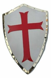 Medieval Templar crusader warrior protector and role play shield Halloween gift