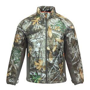 Realtree Xtra Realtree Men/'s Fleece Camo Full Zip Jacket