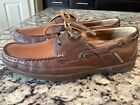New Style 2 Tone Mephisto Spinnaker Deck Boat Shoes Size 8 1/2 Nice