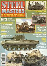 STEEL MASTERS N° 02 sDkFz 231 HUIT ROUES / ABERDEEN 2 / SHERMAN DD DU JOUR J