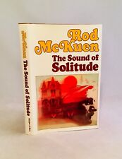 The Sound of Solitude-Rod McKuen-SIGNED!!-DATED!!-First/1st Edition/2nd Printing