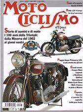 MOTOCICLISMO D'EPOCA 7 2002 -VESPA PRIMAVERA 125 - SUZUKI GT550 - PARILLA 125