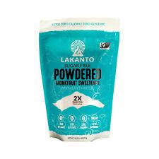 Lakanto, Powdered Monkfruit Sweetener with Erythritol, 1 lb (453 g)