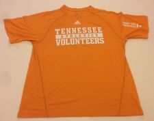 Adidas UT Vols Shirt Tennessee Volunteers M Medium Climalite Orange Rocky Top