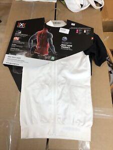 X-Bionic Bike Race Shirt Medium White Cycling Jersey
