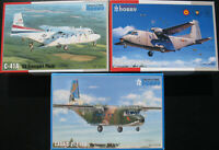3x Special Hobby - CASA C-212-100, C-41A US Transport Plane - 1:72 - Bausatz Kit