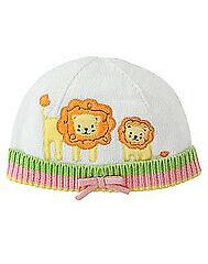 NWT Vintage 2006 Gymboree JUNGLE FRIENDS Pink Lion Hat Size 12-18 Months New